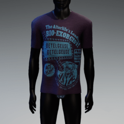 BioExorcist T-Shirt Purple