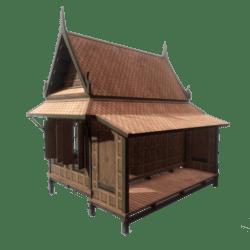 Traditional Thai House 02