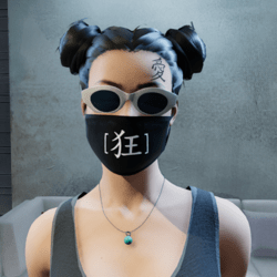 Insvne Facemask female