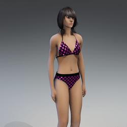 Undies 2.0 black pink