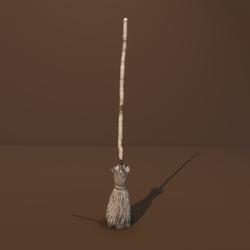 Baba Yaga's Broom