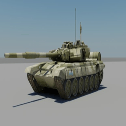 Modellino carro Armato russo 7 90