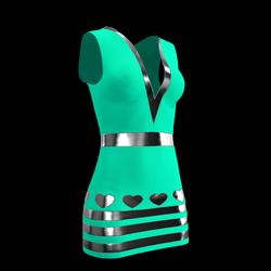 Lily Heart Dress 04