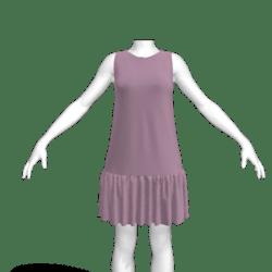 JENNY tent dress lavender