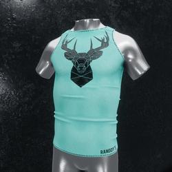 Sleeveless Shirt deer blue