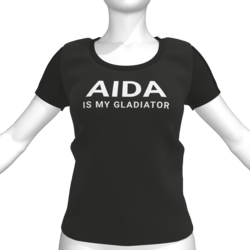 AIDA IS MY GLADIATOR T-Shirt - Female