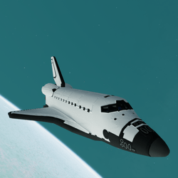 Space Shuttle STS (animated)