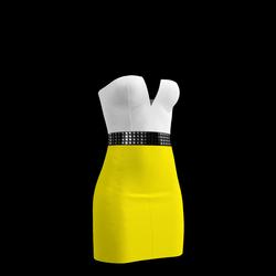 80's Day-Glow Club Dress 05