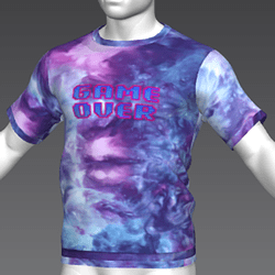 Ready Player One: Game Over T-Shirt (Tiedye) (M)