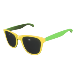 Sunglasses Yellow Green - Male