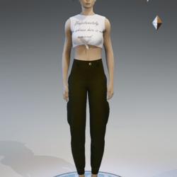 cargo pants for women khaki 4