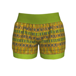 Woman Short - Ethnic 1