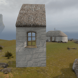 Highland Cottage Kit: Window Side