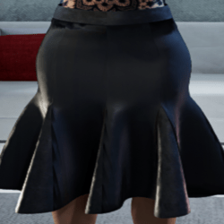 ♥Black Skirt♥