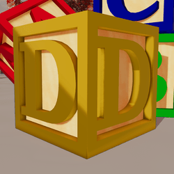 Child Wooden Block D01