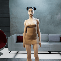 CLELIA strappy nude 1