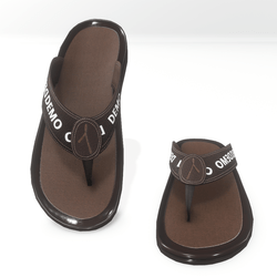 Thong sandals for male AV2 - demo