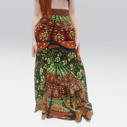 Mandala Bohemian Skirt