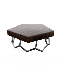 Geo Side Table Cherry