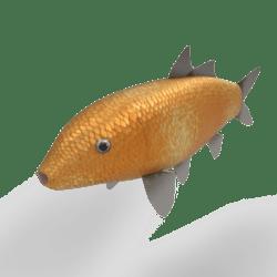 Carp koi - Orenji Ogon [Animated]