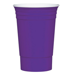 Purple Party Cup