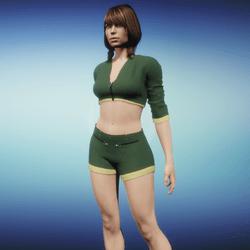 Outfit Jaiyana green