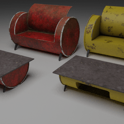 Barrels Sofa