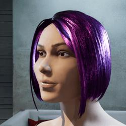 Hair Maya shiny