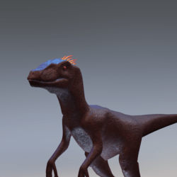 Red Raptor Avatar