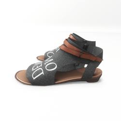 AV 2.0   Open toe textile sandals - demo