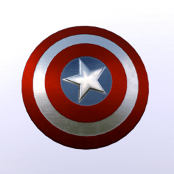 American Shield (Back)