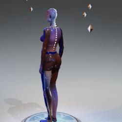 Avatar,  cyber female  Farah