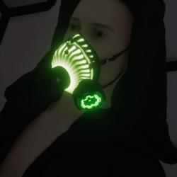 Gas Mask Respirator Emissive