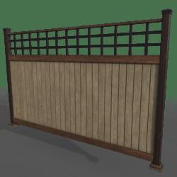 Windsor Fence System (Corner) [2/3]