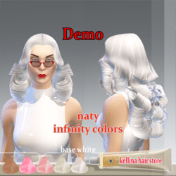 naty-base white -infinty colors-demo