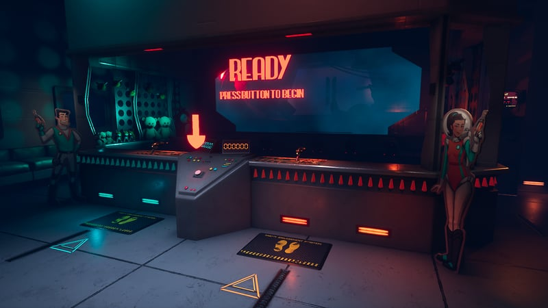 Space Squad: The Shooting Gallery
