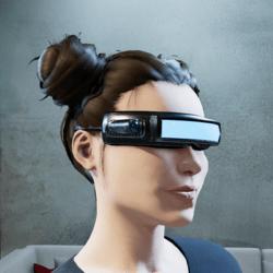 Sci Fi Visor | Entec-1 | For Female