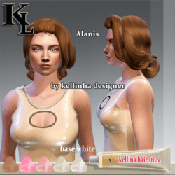 Alanis -white base