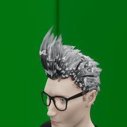 Male Hair 3 demo (TM)