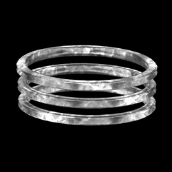 Tripple Armlet Silver - rigged left