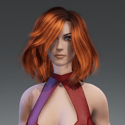 Ava - Custom Euro female avatar