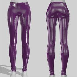 Leggings Maddy Vinyl Deep Purple