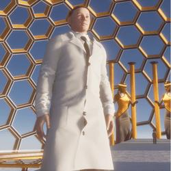 Male Lab Coat