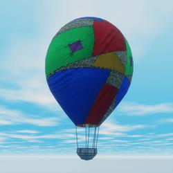 Animated Hot Air Ballon