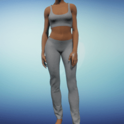 Yoga Outfit - Grey