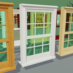 Box Sash Window Furniture With Bars White