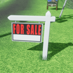 For Sale Custom Yard Sign
