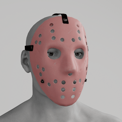 Hockey Mask Pink