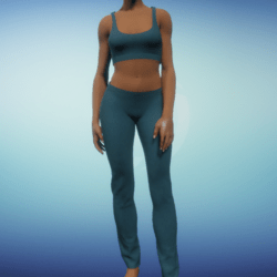 Yoga Outfit - Teal
