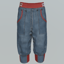 Pants short unisex DBe